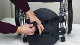 Wheelie Luggage Rack Setup