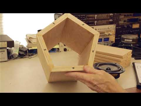 Five Sided Speaker Boxes