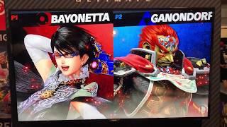 iBexal (Bayonetta) vs Aluf (Ganondorf) - Armageddon Expo 2018 Super Smash Bros Ultimate Demo
