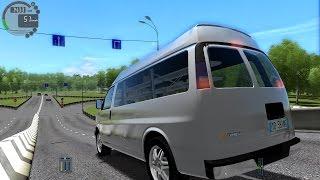 City Car Driving 1.5.2 Chevrolet Express Cargo TrackIR 4 Pro [1080P]