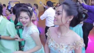 Bon Phum - Khmer dance at the party 2017