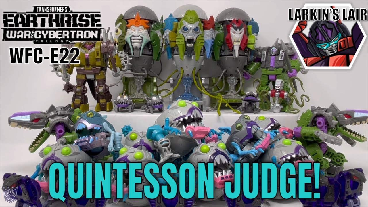 Transformers Earthrise Quintesson Judge WFC-E22 Review by Larkin's Lair