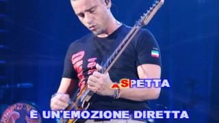 Eros Ramazzotti - Fuoco nel fuoco (karaoke fair use)