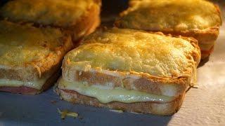 Sándwich croque monsieur (receta fácil y rápida)