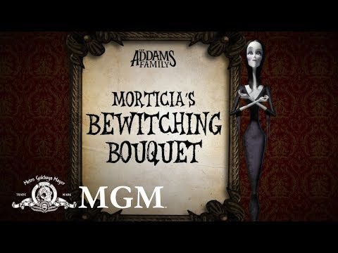 THE ADDAMS FAMILY | DIY: How To Make Morticia's Halloween Bouquet | MGM