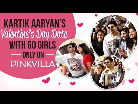 Luka Chuppi star Kartik Aaryan keeps his Valentine's Day date with 60 girls   Photo Song Mp3
