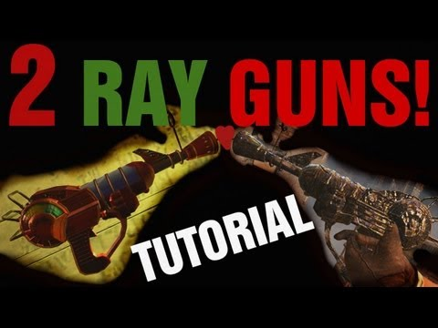 2 RAY GUNS at the Same Time! - Black Ops 2 Zombies Tutorial - How to Get Two in BO2