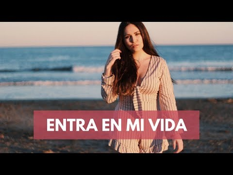 ENTRA EN MI VIDA - SIN BANDERA | COVER CAROLINA GARCÍA