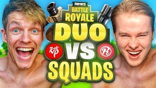 DUO VS SQUADS MET ROYALISTIQ!! - Fortnite #88