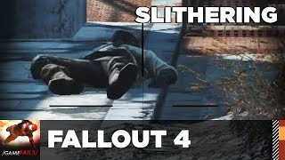 Slithering - Fallout 4 (Glitch) - GameFails