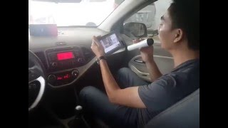 Test & Hướng dẫn sử dụng mic hát Karaoke trên ô tô