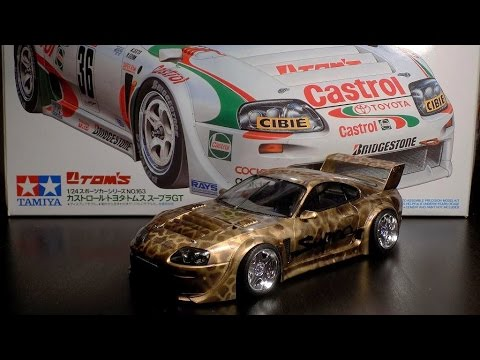 2015 Toyota Supra >> Building Toyota Supra JTCC 1/24 Tamiya - YouTube