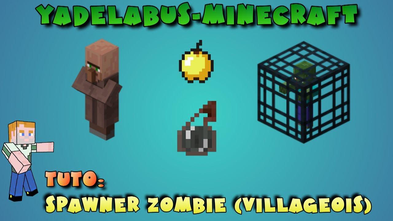 Soigner un zombie villageois sur Minecraft - YouTube