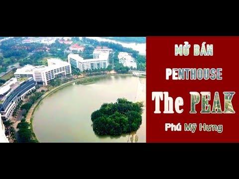 Flycam Căn hộ The Peak Phú Mỹ Hưng – Mở bán Penthouse The Peak Midtown có 1 – 0 – 2 tại Phú Mỹ Hưng