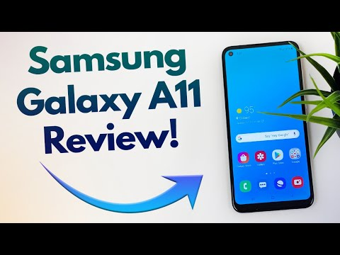 Samsung Galaxy A11 - Review! (New for 2020)