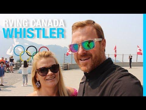 RVING CANADA | WHISTLER BC | PEAK TO PEAK - BUNGEE - RIVER OF GOLDEN DREAMS (RV TRAVEL VLOG)