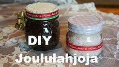 Luukku 20: DIY sokerikuorinta, tuikut, kylpypommit