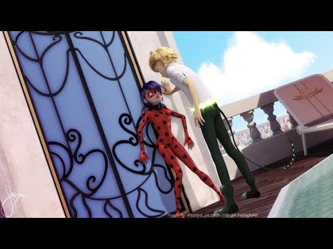Chat Noir Reveal His Identity To LadyBug [Miraculous LadyBug Speededit]
