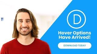 Divi Hover Options Have Arrived!