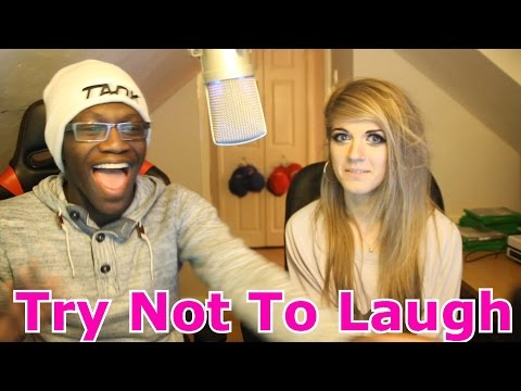 Try Not To Laugh Challenge With My New Girlfriend