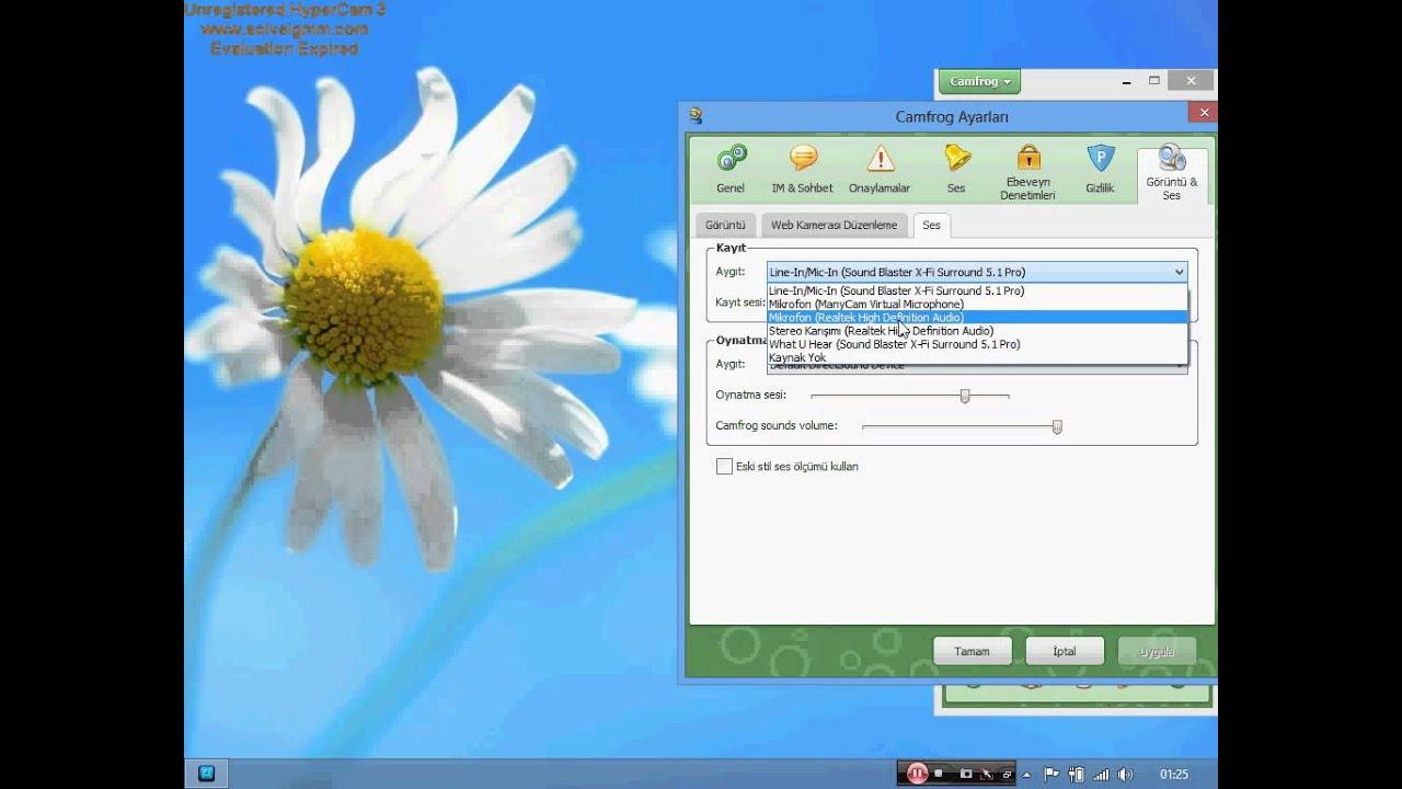 Windows 7 ve 8 stereo mix ses ayarları