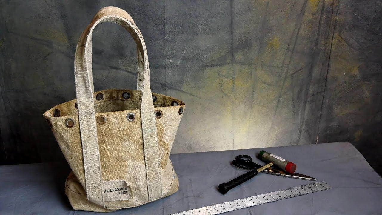 The Making Of Beefy Tarp Bag