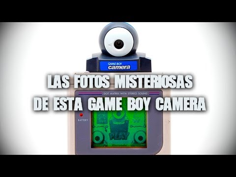 Las fotos misteriosas de esta Game Boy Camera