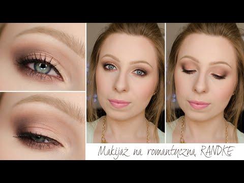 Makijaż Na Randkę Romantyczne Smokey Eye Dla Niebieskich I