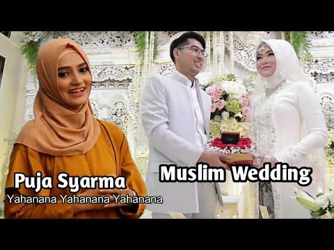 Puja Syarma Ya Hanana Clip Muslim Wedding