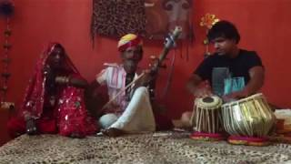Traditional Rajasthani folk music