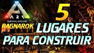 5 LUGARES PARA CONSTRUIR EN RAGNAROK | ARK | TRIPODE