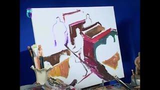 """Уроки рисования (№ 137). Эскизы к картине """"В кафе"""""""