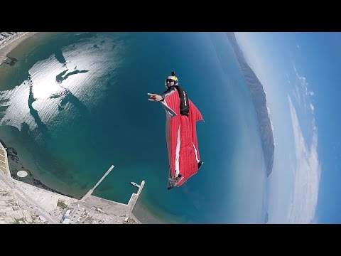 Red Bull Skydive Team Show in Vlora - 5 May 2017