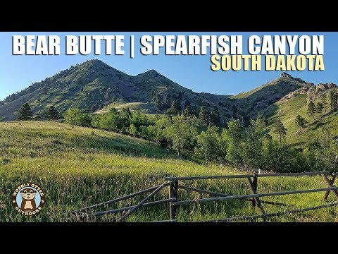 Spearfish Canyon & Bear Butte, South Dakota