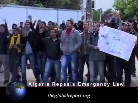 Algeria Repeals Emergency Law