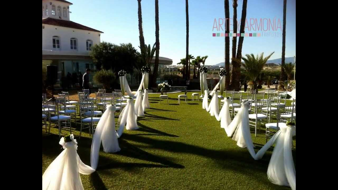 Decoraci n bodas casa del alambre i florister a arte - Decoracion del jardin ...