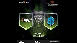 TNC.Predator vs Entity Gaming Game 2 (BO3) l The International 2018 SEA Semi Finals