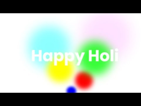 Happy Holi | Html CSS Animation Effects thumbnail