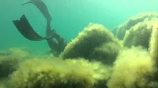 Подводная охота в Каспийском море, Поездка с ночевкой(, 2014-07-16T07:03:50.000Z)