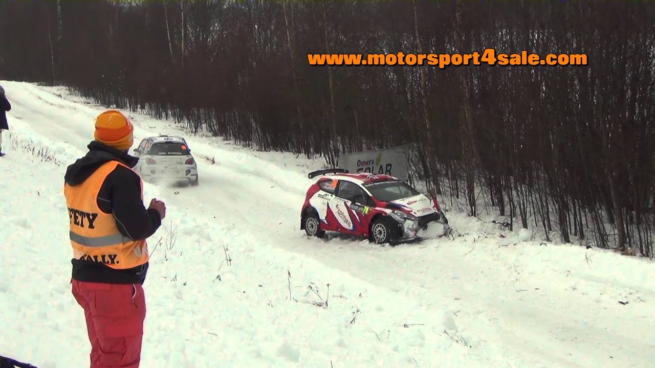 Big Jump And Crash Rally Sweden SS Per Erik Brynildsen Ford - Rally sweden map 2016