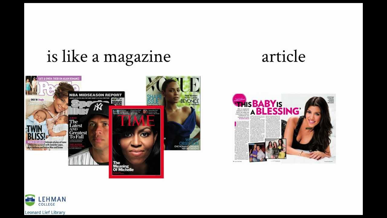 What is an academic journal article