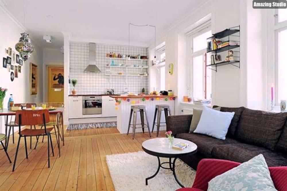 Kitchen Living Room Open Floor Plan