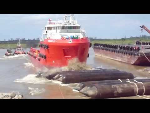 LAUNCHING VESSEL2-SEALINK-ROXANNE 42 - SSS-142.flv
