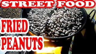 Street Food   Original Indian Street Food   Auuthentic Indian Street Food   Peanut Fry   Indian Food