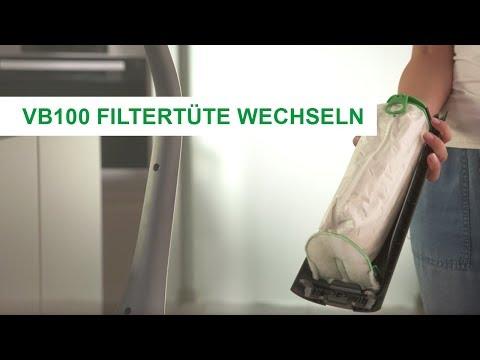 TÜV-Zertifizierte Premium-Filtertüte des Kobold VB100 Akku-Staubsaugers von Vorwerk