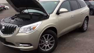 New 2014 Buick Enclave Leather Review | 140607