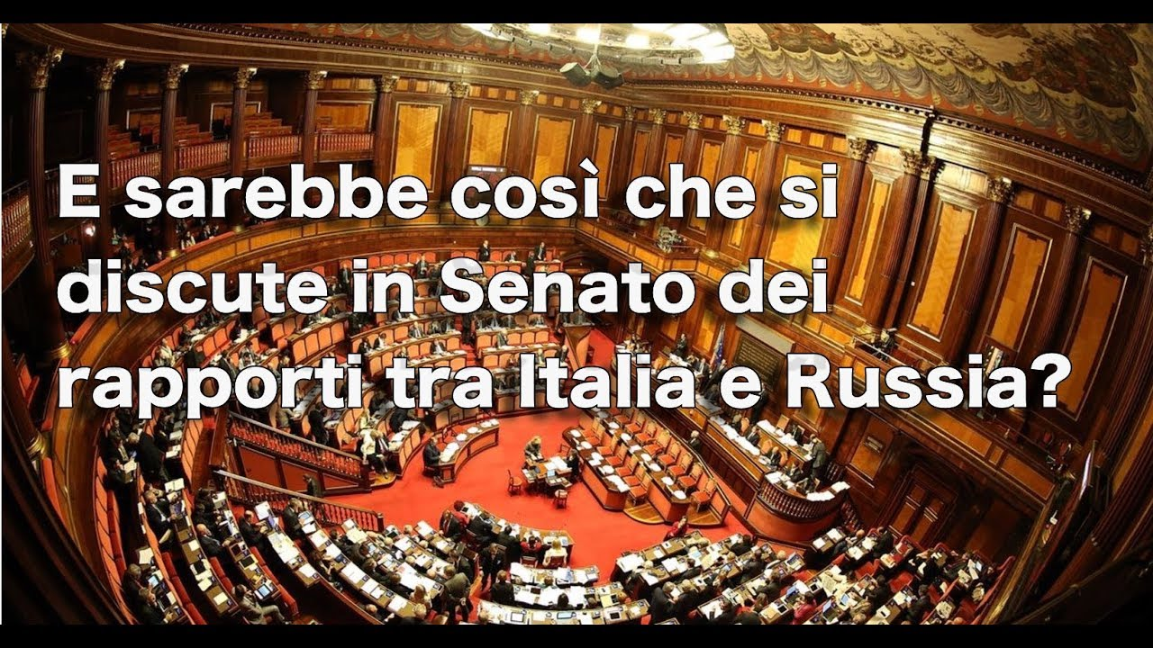 [Ptv Speciale] E sarebbe così che si discute in Senato dei rapporti tra Italia e Russia?
