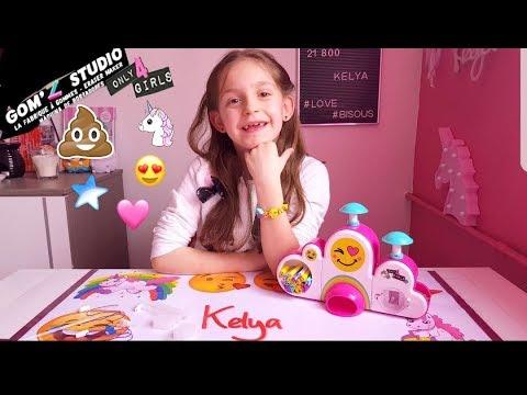 Gom Z Studio On Fabrique Des Gommes Licorne Caca Emoji