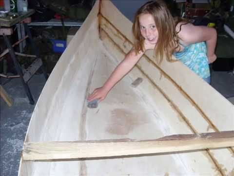 Homemade Canoe and how I made it - YouTube