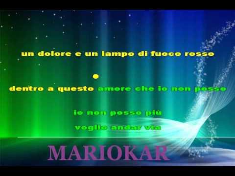 Claudio Baglioni   Via karaoke